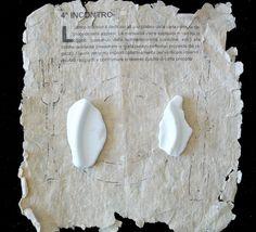 A tavola!, Fernanda Menendez. Handmade paper and Eolic's traces.