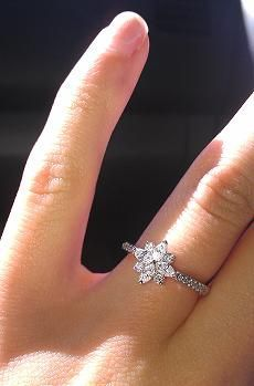 New Antique Tiffany Style Diamond Engagement Ring