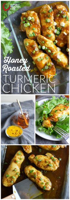 Honey Roasted Turmeric Chicken Recipe | Healthy Ideas for Kids