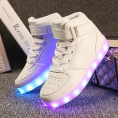 Cheap led lighting children shoes, Buy Quality light children shoes directly from China children fashion shoes Suppliers: New LanDiLi USB Charging Kids Sneakers Fashion Luminous Lighted Colorful LED lights Children Shoes Casual Flat Boy girl Shoes