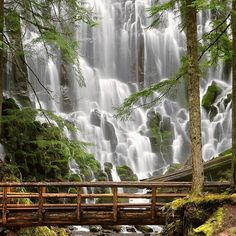 Ramona Falls, Mount Hood, Oregon