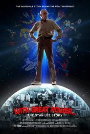 10/5/12--With Great Power: The Stan Lee Story--3.5/5 stars