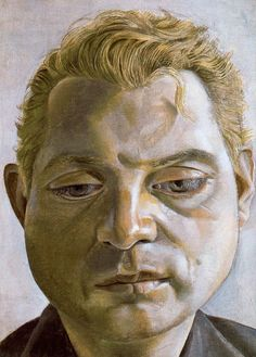 Portrait of Francis Bacon by Lucian Freud 1952 Oil on Metal, Tate Gallery (Stolen while on loan in Berlin in Francis Bacon, Lucian Freud Portraits, Lucian Freud Paintings, Famous Artists, Great Artists, George Grosz, L'art Du Portrait, Portrait Paintings, Oil Paintings