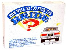 Test everyone in the hen group using this fantastic 'how well do you know the bride' game - only Next day delivery available up to Trivia Games, Fun Games, Hens Party Supplies, Hen Night Ideas, Hen Nights, Hen Party Games, Party Entertainment, Party Shop, Did You Know