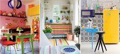 Esquente a cozinha com muitas cores! | Dicas de Decoração | Blog de Decoração LojasKD