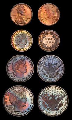 1915 PR SET PCGS PR65-67+ #coins
