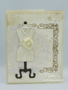 Pour aller danser, Stampin UP, All dress up