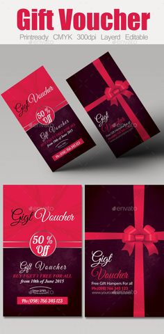 Multi Use Business Gift Voucher Template. Download: http://graphicriver.net/item/multi-use-business-gift-voucher/10050727?ref=ksioks