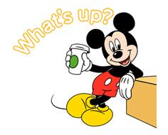 Mickey Mouse in Motion by The Walt Disney Company (Japan) Ltd. Mickey Mouse Pictures, Mickey Mouse Cartoon, Mickey Mouse And Friends, Disney Pictures, Disney Mickey Mouse, Xmas Music, Disney Clipart, Mighty Mouse, Cartoon Stickers