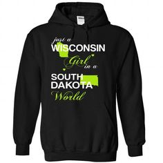 (WIJustXanhChuoi001) Just A Wisconsin Girl In A South_D - #homemade gift #thank you gift. PRICE CUT => https://www.sunfrog.com/Valentines/-28WIJustXanhChuoi001-29-Just-A-Wisconsin-Girl-In-A-South-5FDakota-World-Black-Hoodie.html?68278