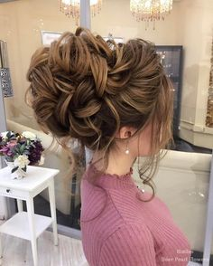 Elstile Wedding Hairstyles for Long Hair / http://www.deerpearlflowers.com/wedding-hairstyles-for-long-hair/3/
