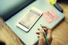Smart Phone Email Correspondence Note Concept by Rawpixel. Smart Phone Email Correspondence Note Concept