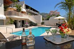 This Hollywood Star Casa Tabachin is located in Gringo Gulch just steps away from old town Vallarta!