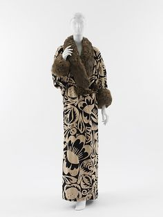 La Perse Made Of Silk, Metallic Thread And Fur By Paul Poiret - Paris, France   c.1911