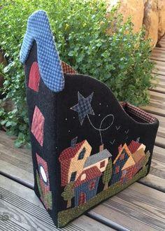 Country Quilts, Textiles, Decoration, Toy Chest, Lana, Storage Chest, Saint Marin, Garden Design, Home Improvement