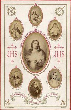 Les Privilegiés du coeur de Jésus