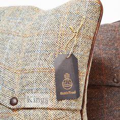 Genuine Harris Tweed Cushions. http://www.kingsinteriors.co.uk/brands/tetrad-harris-tweed