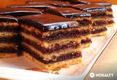 My Recipes, Sweet Recipes, Cookie Recipes, Dessert Recipes, Hungarian Desserts, Hungarian Recipes, Smoothie Fruit, Torte Cake, Just Eat It