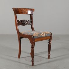 STOL, mahogny, empire stil, 1900-talets första hälft.