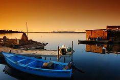 Corsica fishing town