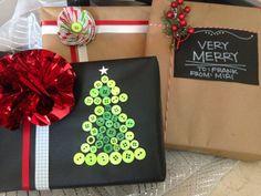 Envolturas faciles y originales para Navidad paso a paso!