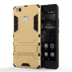 Köp Hybridskal Tech Huawei P9 Lite guld/svart online: http://www.phonelife.se/hybridskal-tech-huawei-p9-lite-guld-svart