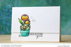 mama elephant | design blog: STAMP HIGHLIGHT : POTTED PRETTIES