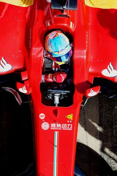 Fernando Alonso from above