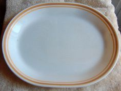 Corelle Corning Vintage Platter large with by GrannysTreasures4u, $12.50