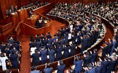 首相の呼びかけで自民議員が起立拍手 衆院議長は注意 - 朝日新聞