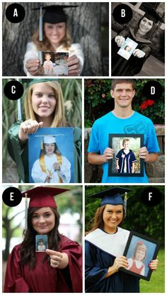 Fun Graduation and Cap and Gown Photo Ideas