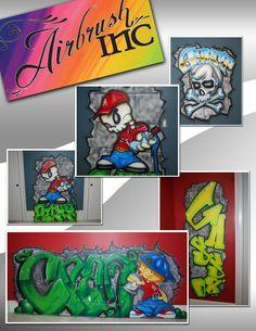 airbrush shops: