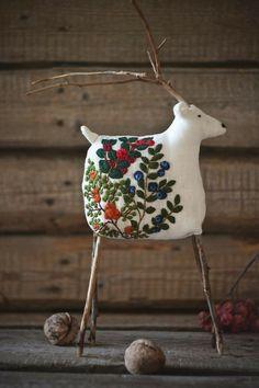Free Standing Rudolf Renne forme Kinder Egg Holder NOËL Xmas Craft forme