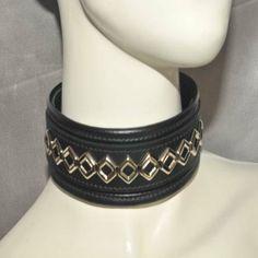 Large Diamond Decor Diamond Decorations, Collars, Belt, Bracelets, Leather, Accessories, Jewelry, Fashion, Belts