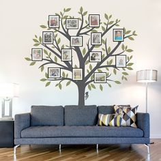 Large Family Tree Wall Decal - Tree Wall Sticker Nature Wall Decal Living Room Art Family Photo Art Family Tree Art USD) by WallumsWallDecals Family Tree Wall Sticker, Family Tree Art, Tree Wall Art, Family Wall, Family Room, Tree Artwork, Decoration Bedroom, Room Decor, Art Decor