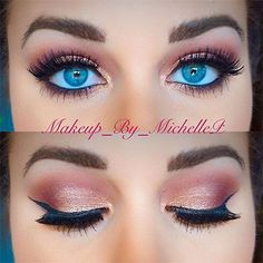 We rounded up our favorite glittery eyeshadow, black eyeliner, smokey eyes, and red lips inspo to give you the best winter makeup, date and valentine& day ideas Day Eye Makeup, 70s Makeup, Simple Eye Makeup, Vintage Makeup, Skin Makeup, Beauty Makeup, Beauty Tips, New Makeup Ideas, Makeup Inspiration