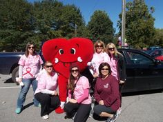 Carilion Clinic is a proud partner of the American Heart Association - Western VA in the fight against heart disease. On Sunday, Oct. 5 Carilion participated in the annual NRV Heart Walk at Bisset Park in Radford, Va.