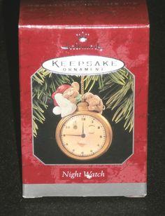 Hallmark Keepsake Christmas Ornament 1998 Night Watch QX6725 NEW IN BOX by DiscountFigurines on Etsy