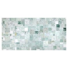 Opus Mosaic Tile | Polished Opus Verde Marble
