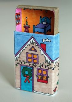Winter Matchbox House! |