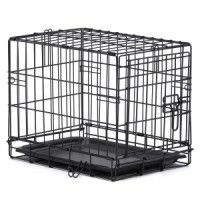 Grreat Choice® Wire Dog Crate at PetSmart. Shop all dog crates online Airline Pet Carrier, Dog Carrier, Dog Crate Sizes, Wire Dog Crates, Wire Crate, Puppy Crate, Flea Shampoo, Dog Cages, Wild Bird Food