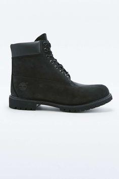 Timberland Classic 6-Inch Black Premium Boots