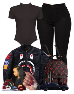 """""""Untitled #189"""" by yomo-bribri ❤ liked on Polyvore featuring WearAll, shu uemura, Napoleon Perdis, Michael Kors, Lime Crime, NIKE and Rolex"""