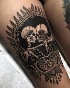 History Of Blackwork Tattoos With Latest Tattoo Designs & Ideas Dream Tattoos, Future Tattoos, Body Art Tattoos, Sleeve Tattoos, Henna Tattoos, Female Leg Tattoos, Tatoos, Woman Tattoos, Key Tattoos