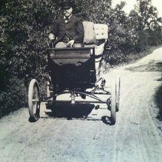 On the road to Vicksburg (Michigan), 1900