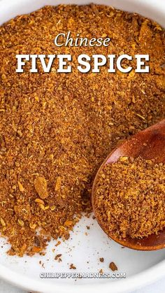 This Chinese five spice recipe is pungent and vibrant, essential for many classic Chinese dishes and perfect for spicy food lovers seeking bold flavors. Learn how to make it and how to use it. Today we are making homemade Chinese Five Spice powder in the Chili Pepper Madness kitchen. If you have not used Chinese five spice, this is a seasoning I highly recommend. Chinese 5 Spice, Chinese Five Spice Powder, Chinese Food, Spicy Chicken Recipes, Asian Recipes, Spice Blends, Spice Mixes, Five Spice Recipes, Kinds Of Pie