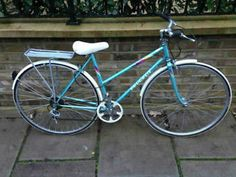 50cm ladies peugeot road bike yellow 5 gears great condition