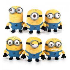 Peluches Minions Gru de 30 cm #minions
