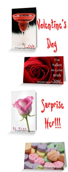 Need some ideas for a Valentine's Day card to add to his or her gift?  http://crystalgaylephotography.com