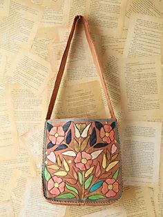Vintage Floral Embroidered Bag in Vintage-Loves-luck-of-the-draw